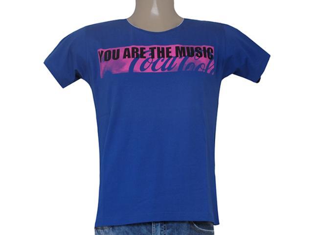 Camiseta Masculina Coca-cola Clothing 353203755 Marinho