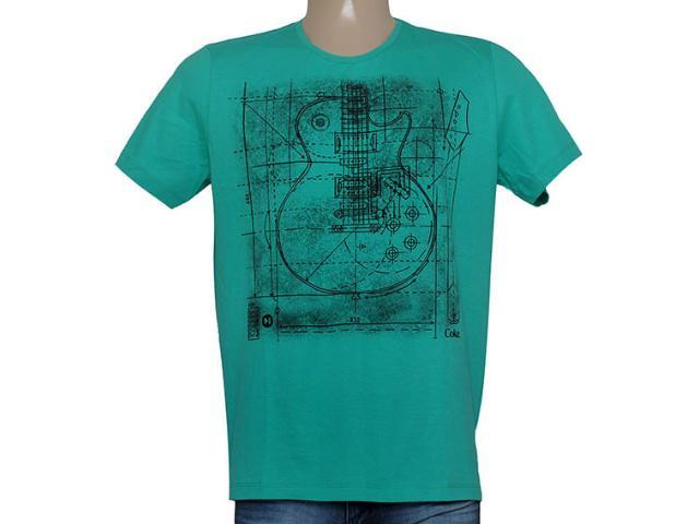 Camiseta Masculina Coca-cola Clothing 355200034 Verde