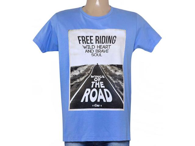 Camiseta Masculina Coca-cola Clothing 353204744 Azul Claro