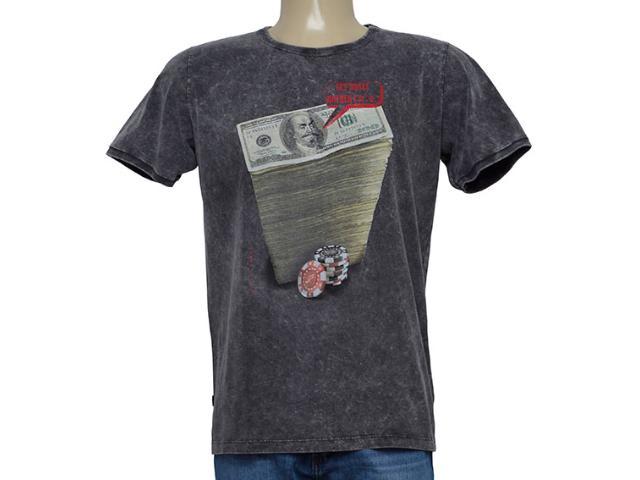 Camiseta Masculina Coca-cola Clothing 355800171 Cinza