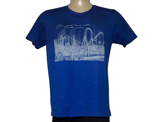 Camiseta Masculina Coca-cola Clothing 353205806 Azul