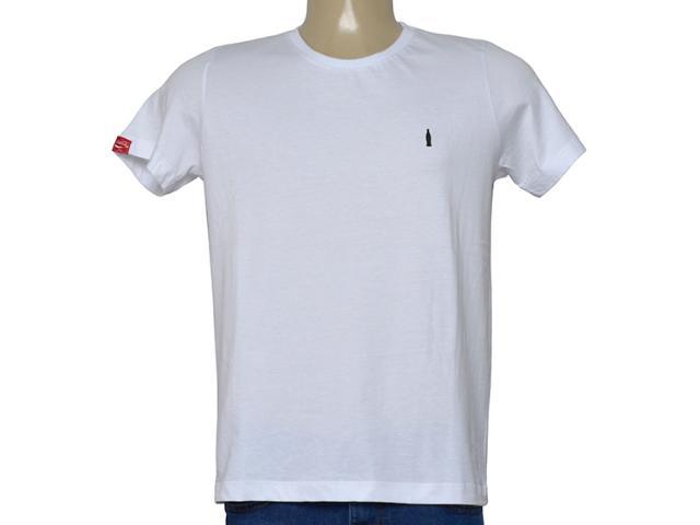 Camiseta Masculina Coca-cola Clothing 353205839 Branco