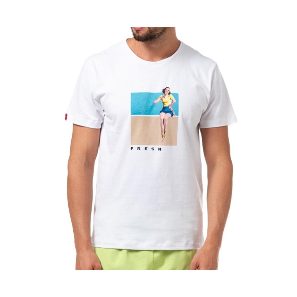 Camiseta Masculina Coca-cola Clothing 353207303 001 Branco