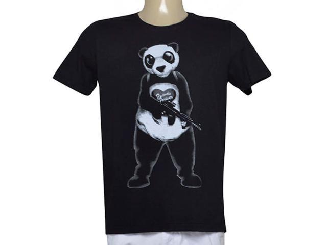 Camiseta Masculina Coca-cola Clothing 355600153 Preto