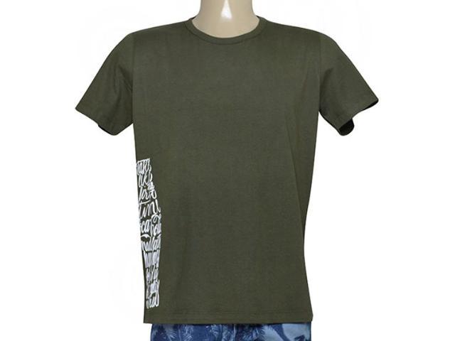 Camiseta Masculina Coca-cola Clothing 353205133 Musgo