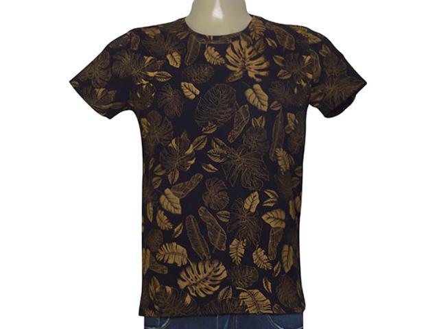 Camiseta Masculina Coca-cola Clothing 353205466 Var1 Preto Estampado