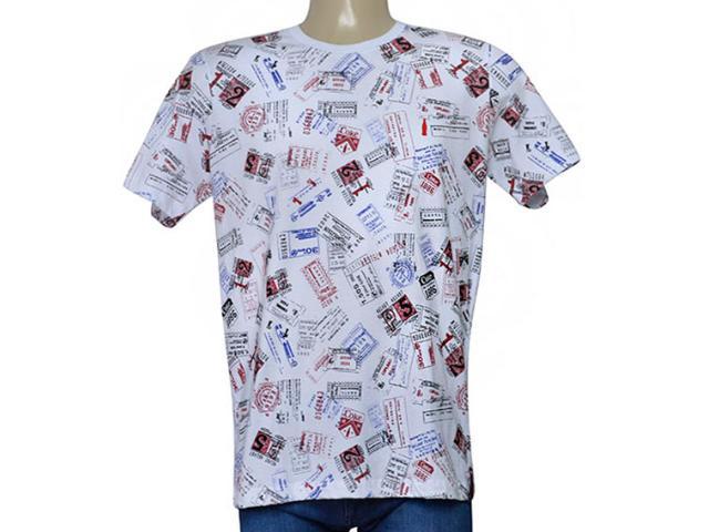 Camiseta Masculina Coca-cola Clothing 353205666 Var1 Branco