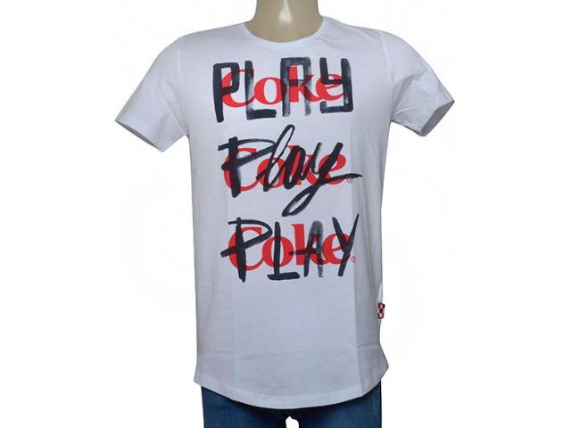 Camiseta Masculina Coca-cola Clothing 353205624 Branco