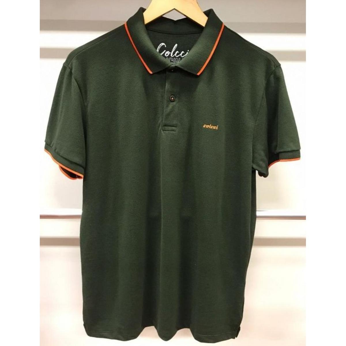 Camiseta Masculina Colcci 250102555 39009 Verde