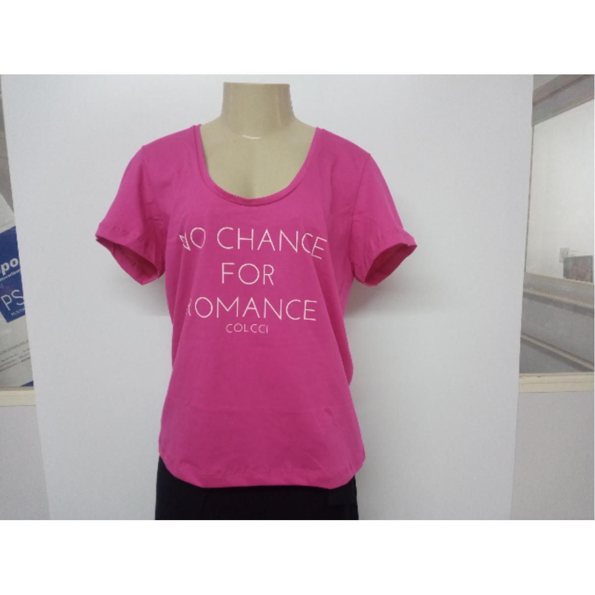 Camiseta Feminina Colcci 340104387 53657 Rosa