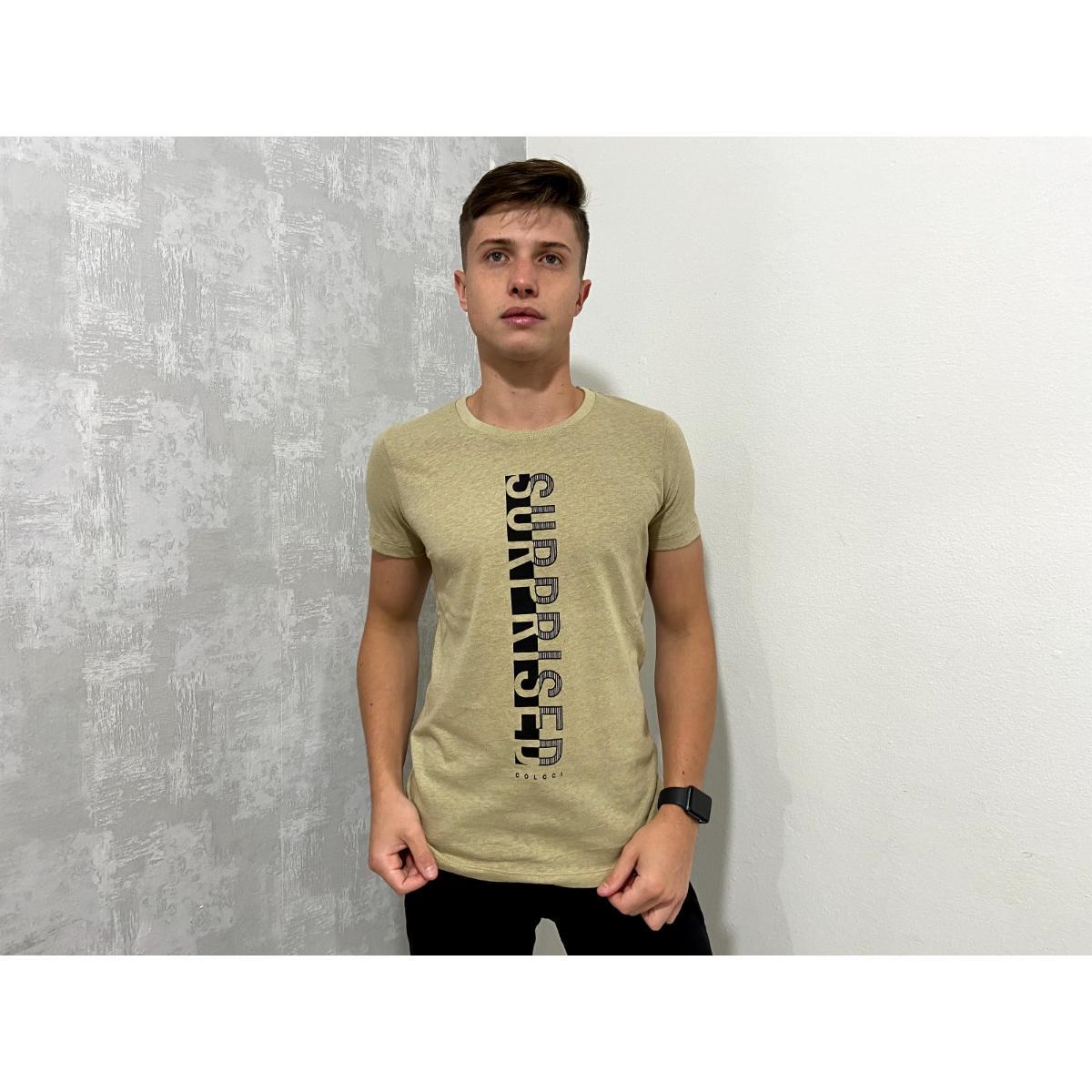 Camiseta Masculina Colcci 350108167 Vc511 Estampada