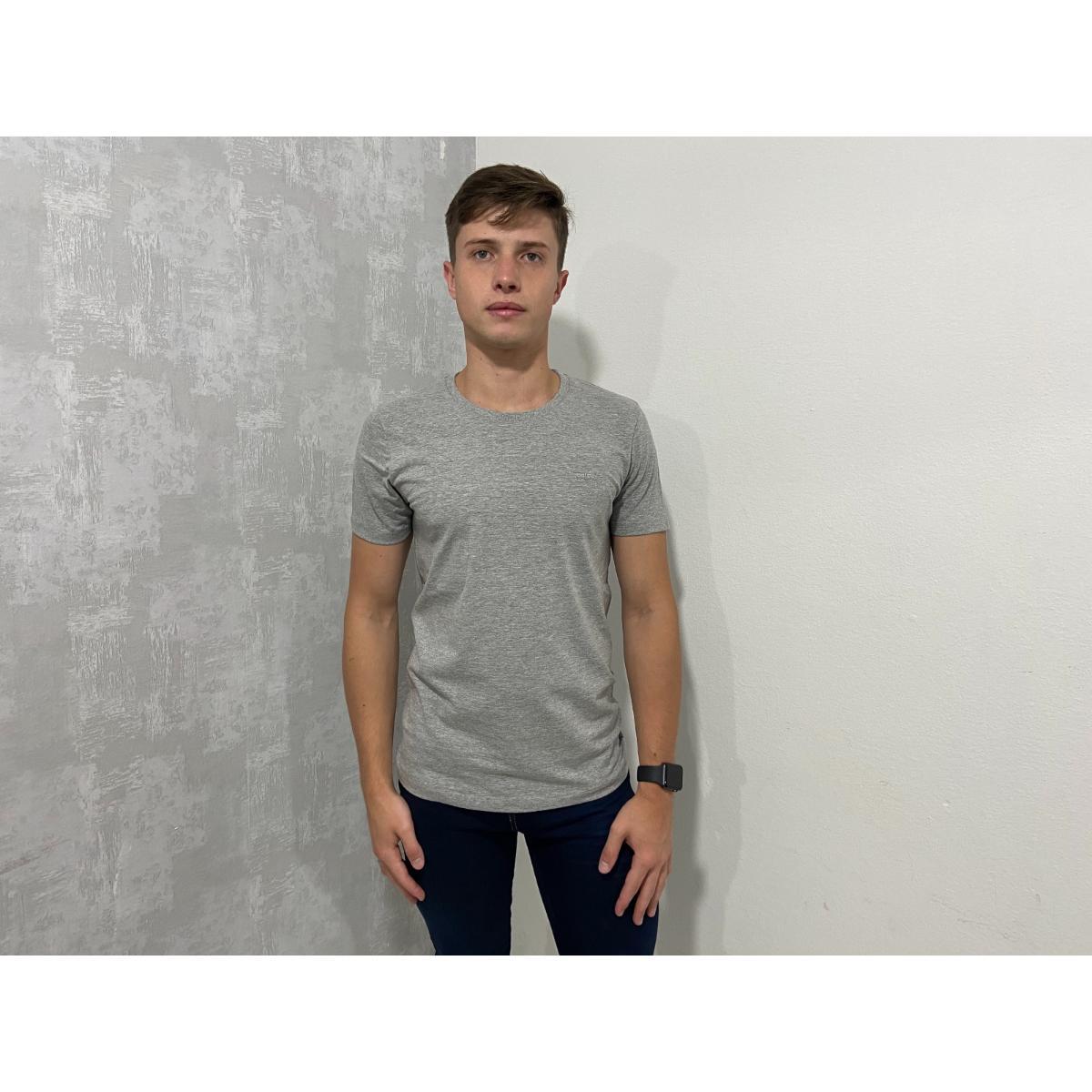 Camiseta Masculina Colcci 350107768 63007 Mescla