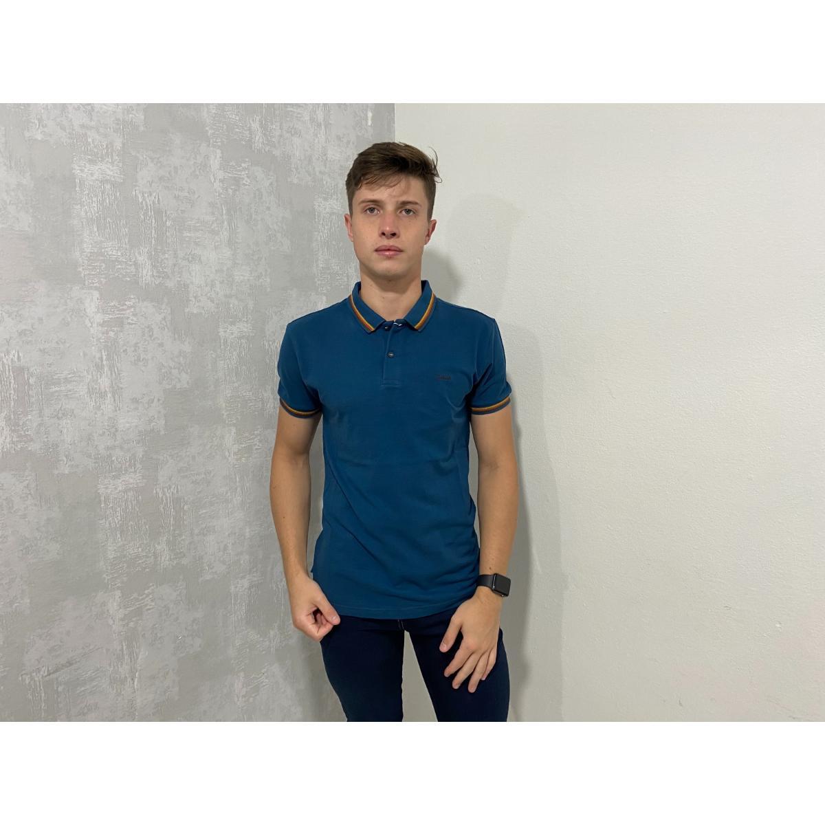 Camiseta Masculina Colcci 250102451 63233 Azul