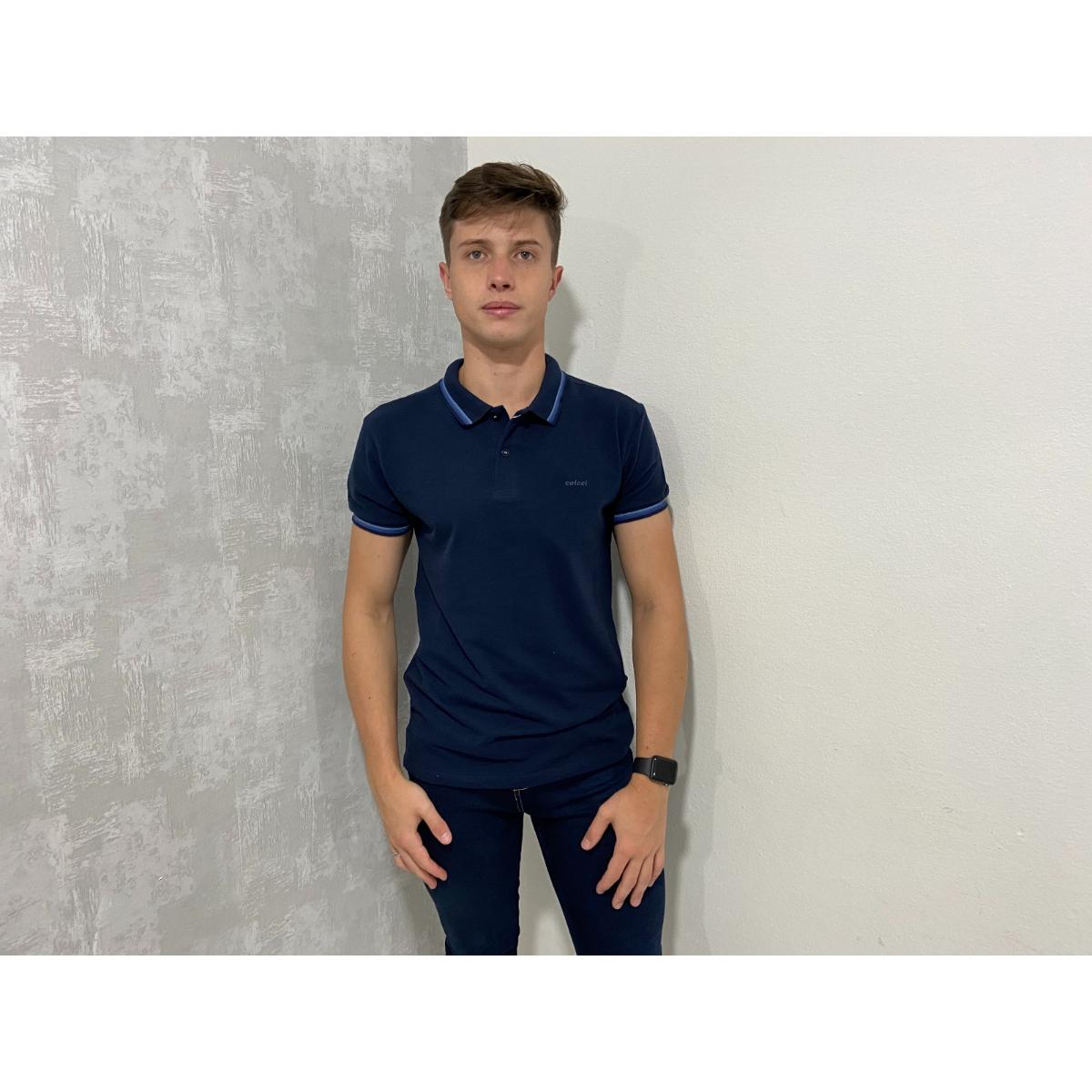 Camiseta Masculina Colcci 250102451 33664 Marinho