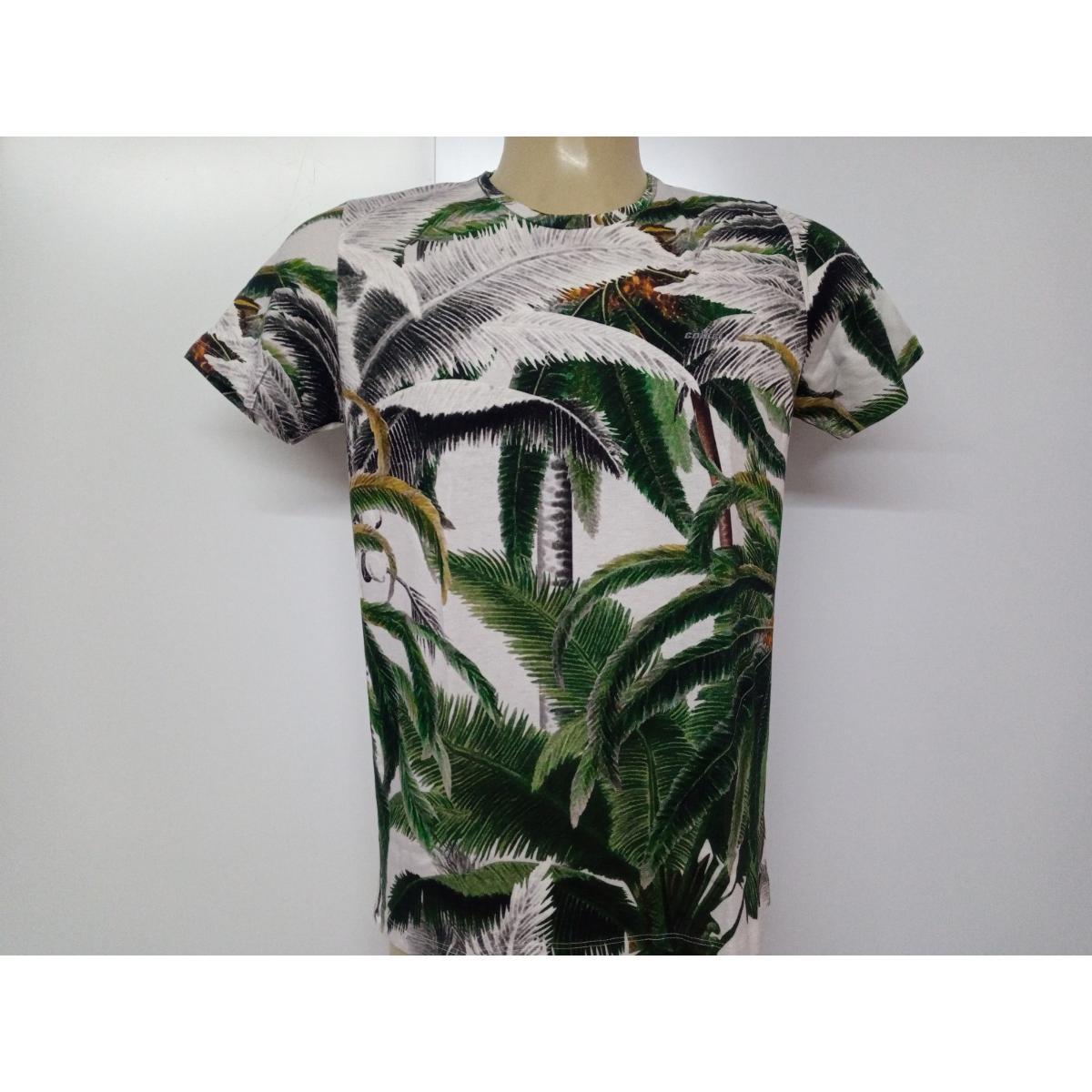 Camiseta Masculina Colcci 350109247 Vc156 Estampada