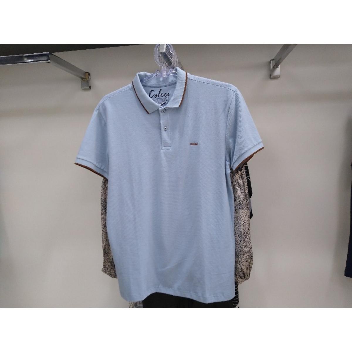 Camiseta Masculina Colcci 250102555 33854 Azul