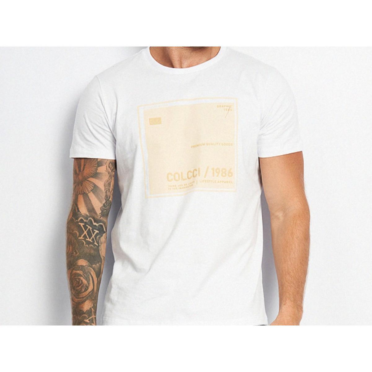 Camiseta Masculina Colcci 350109385 001 Branco
