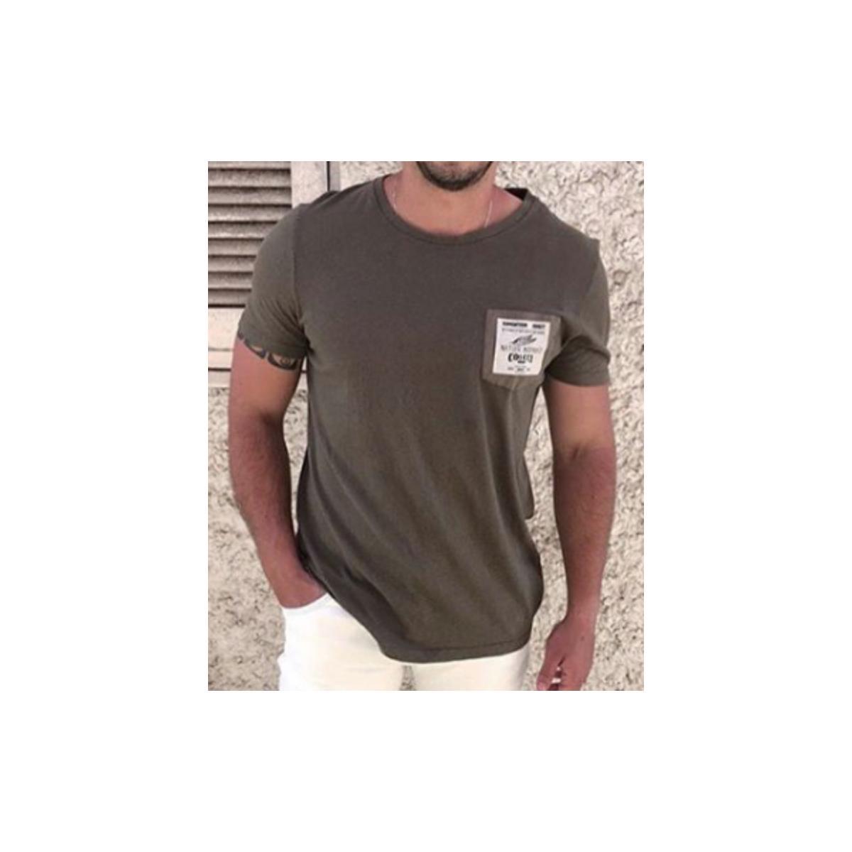 Camiseta Masculina Colcci 350108454 38946 Verde