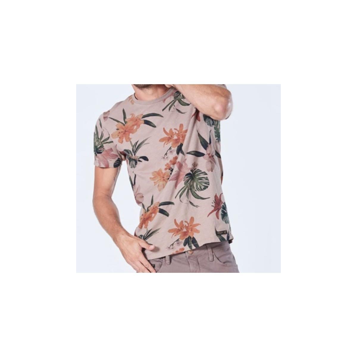 Camiseta Masculina Colcci 350108250 44085 Rosa Floral