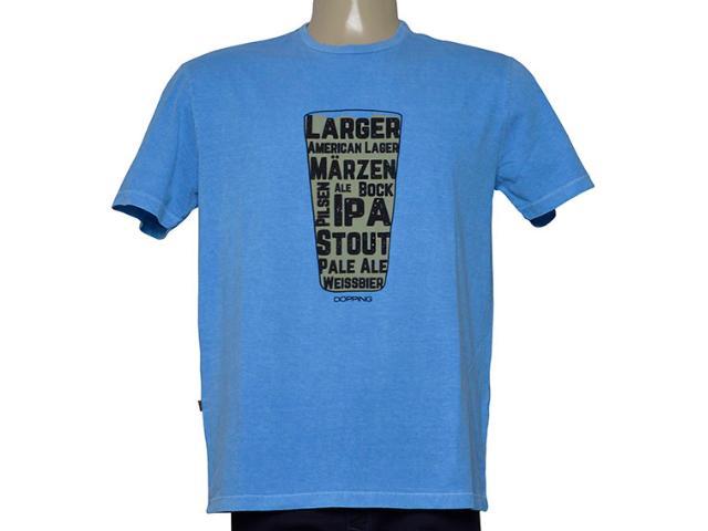 Camiseta Masculina Dopping 015268614 Azul