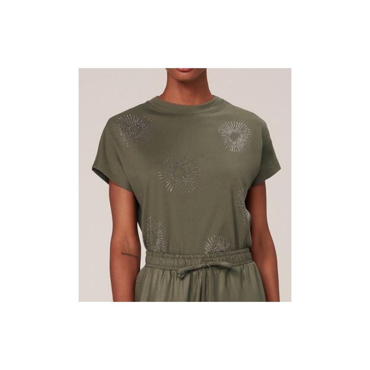Camiseta Feminina Dzarm 6r2n Eacen Verde