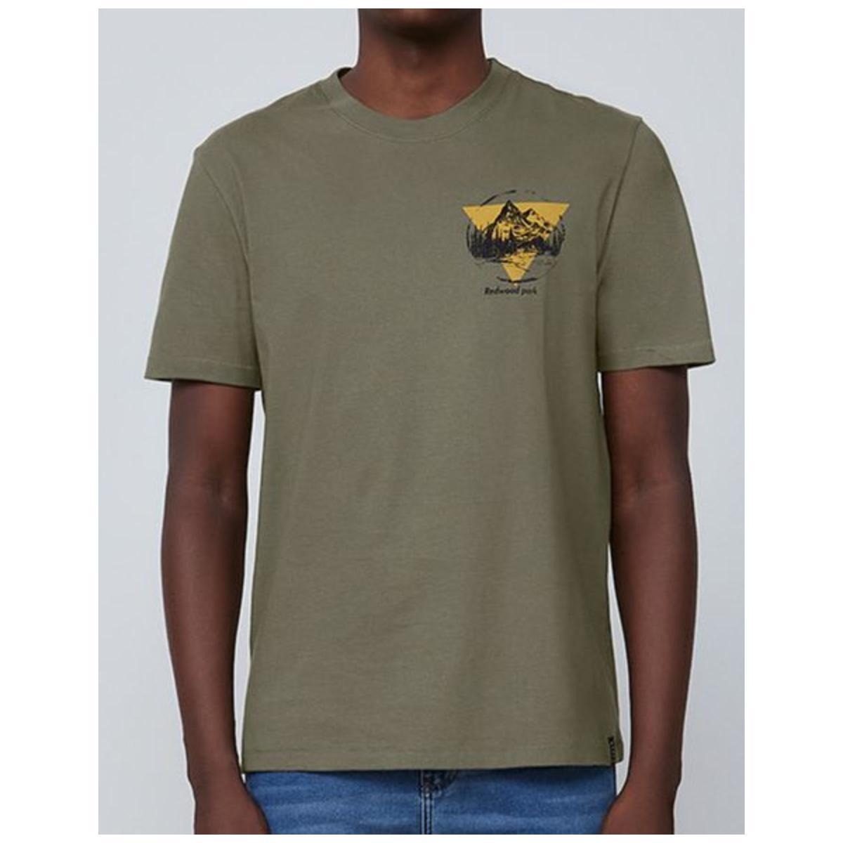Camiseta Masculina Dzarm 6rn5 Eacen Verde