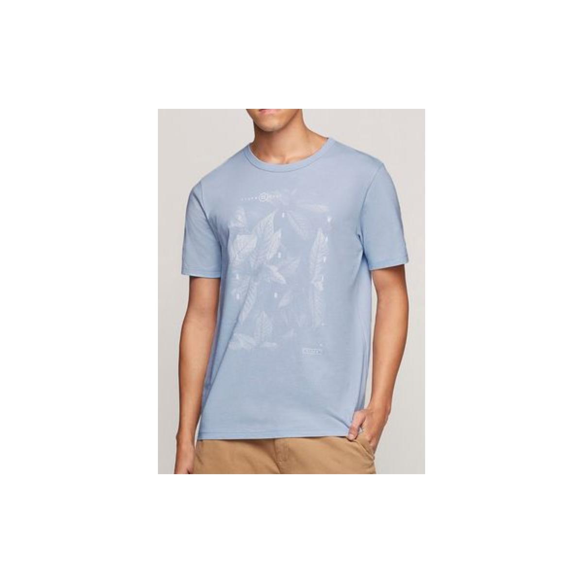 Camiseta Masculina Dzarm 6rlz Az5en  Azul