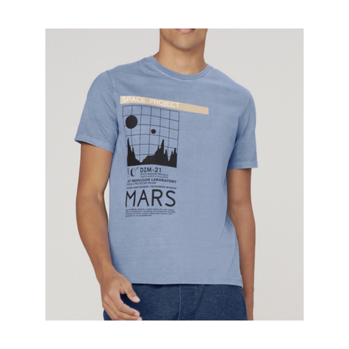 Camiseta Masculina Dzarm 6r8e 1ben Azul