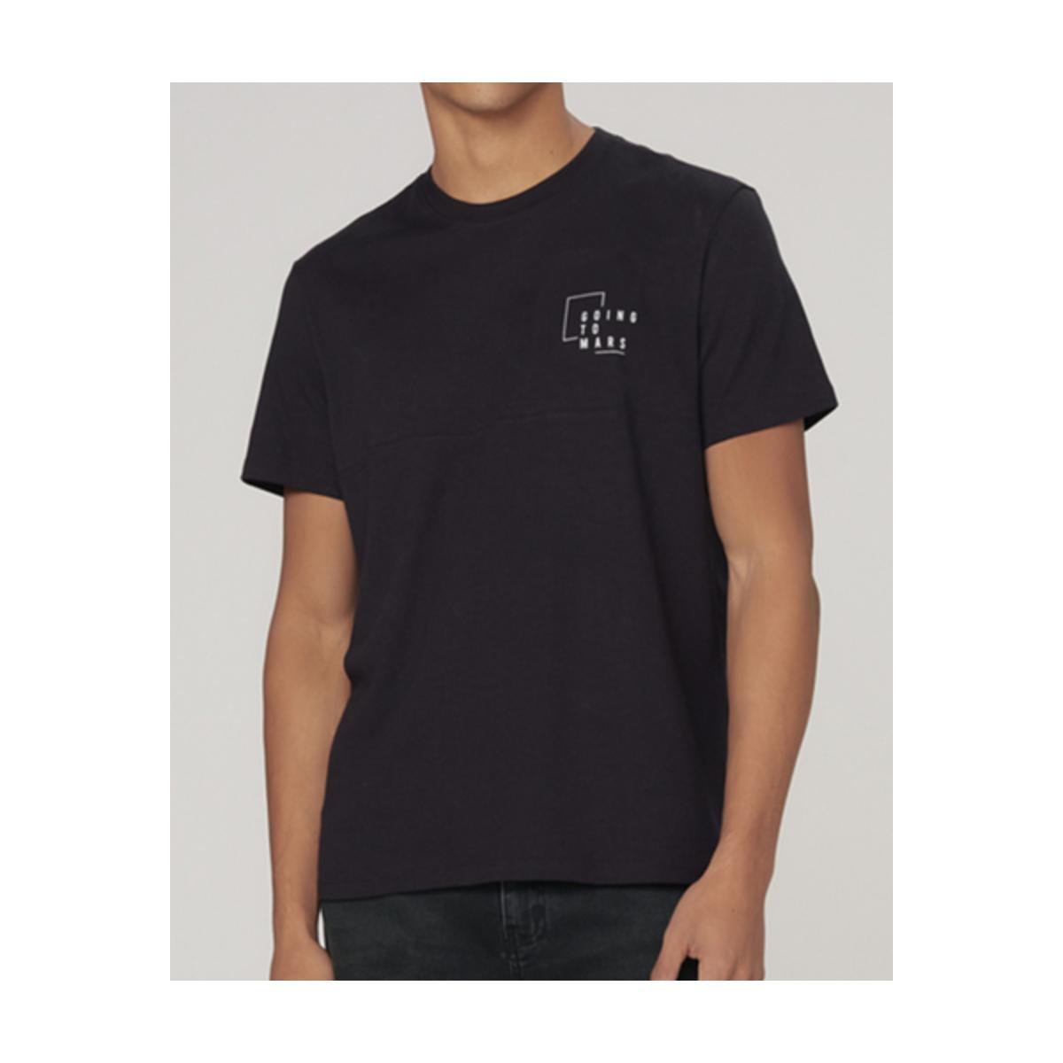 Camiseta Masculina Dzarm 6raz N10en Preto