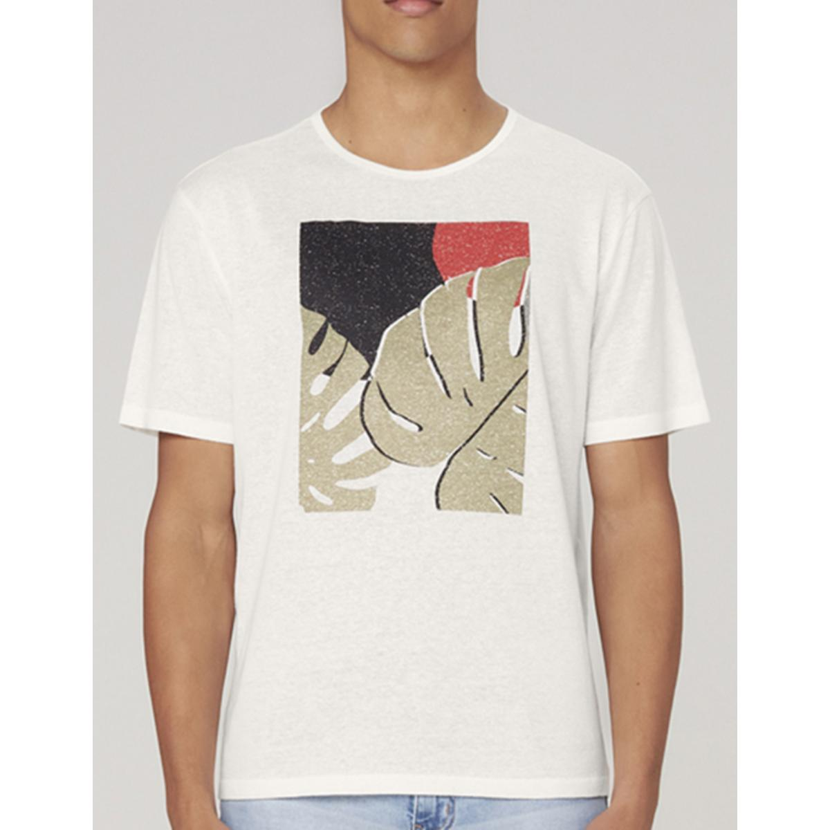 Camiseta Masculina Dzarm 6r8b Nmcen Off White