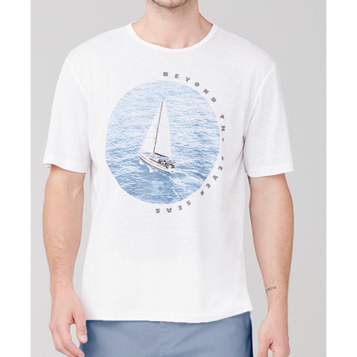 Camiseta Masculina Dzarm 6r8b N0aen Branco