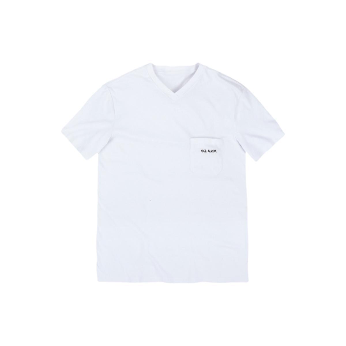 Camiseta Masculina Dzarm 6rmd N0aen Branco