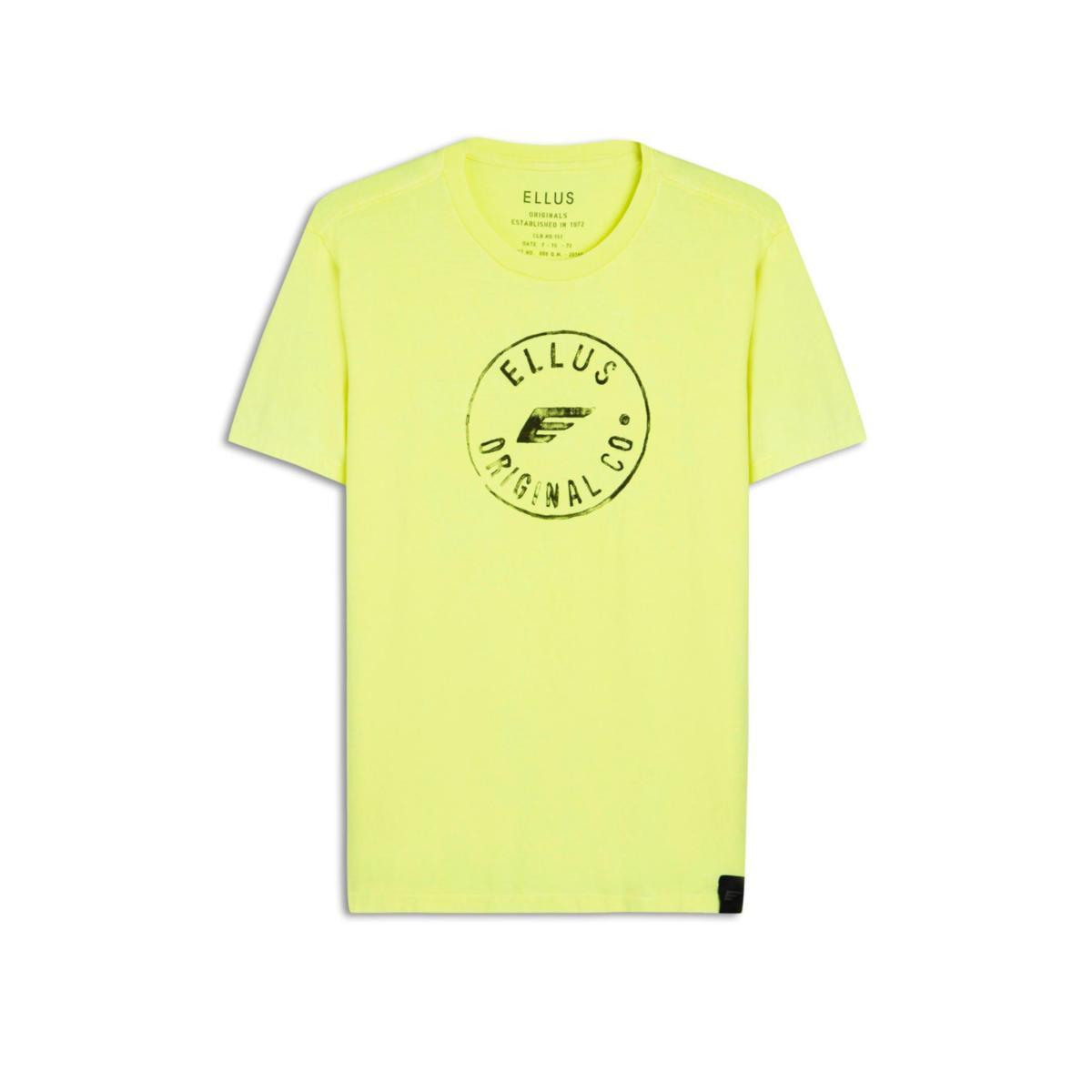 Camiseta Masculina Ellus 53c7673  33f Verde Neon
