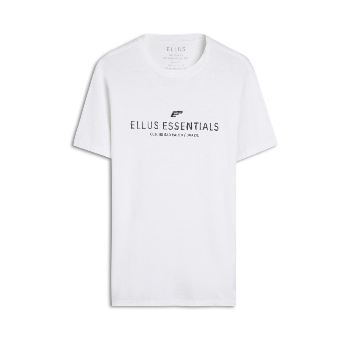 Camiseta Masculina Ellus 53c5818 01 Branco
