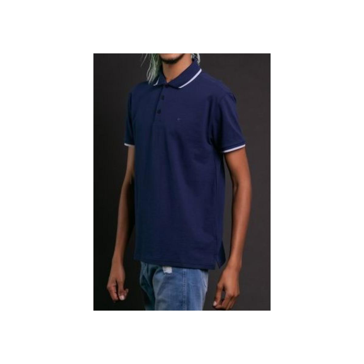 Camiseta Masculina Ellus B672 14 Marinho