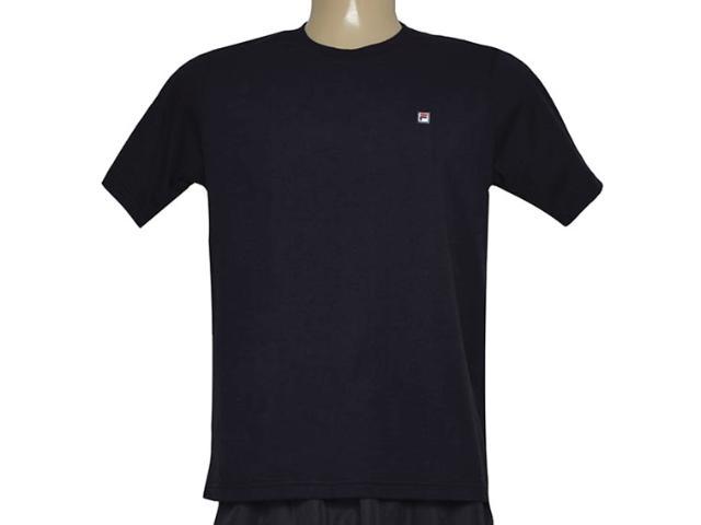Camiseta Masculina Fila U101017 Classic F-box Preto