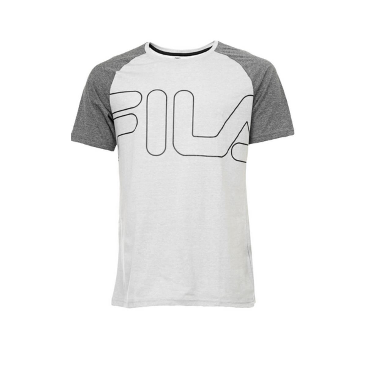 Camiseta Masculina Fila Tr180436 Essental 1966 Mescla