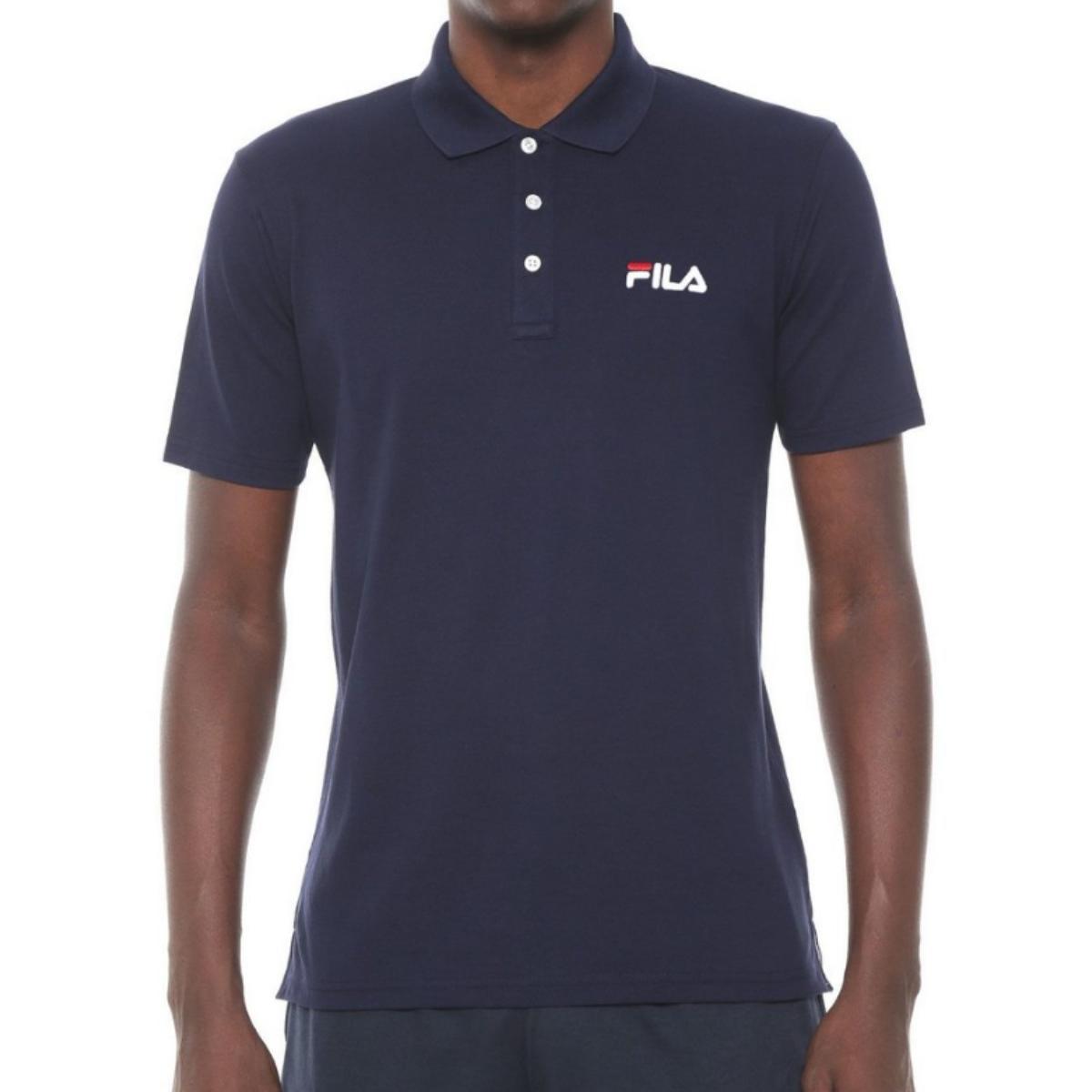 Camiseta Masculina Fila Ls360192.140 Select Marinho