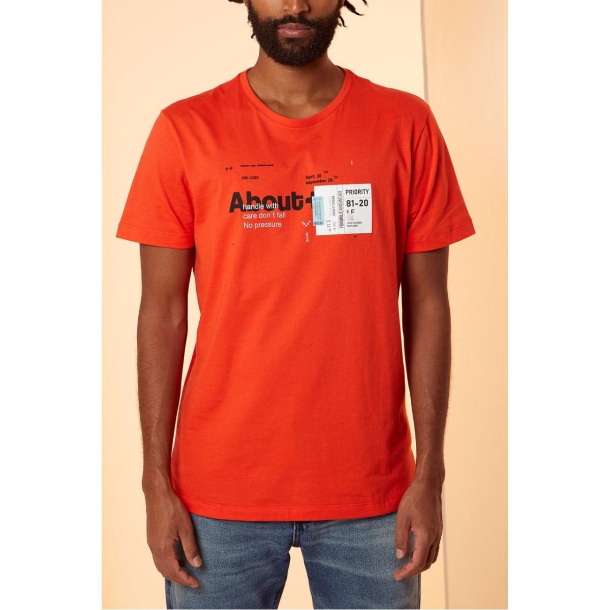 Camiseta Masculina Forum 354603467 53708 Laranja