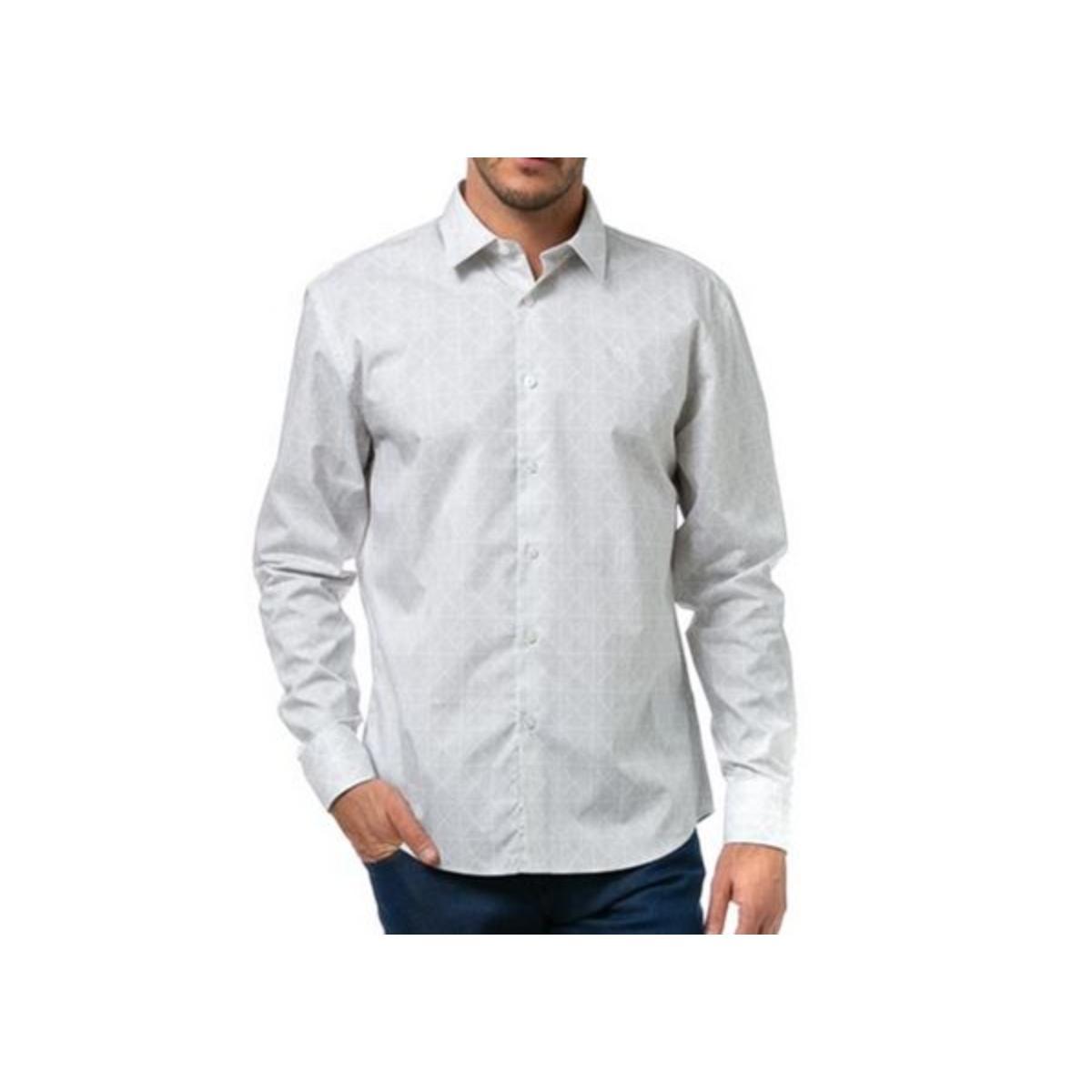 Camiseta Masculina Forum 314602954 Vf203  Off White/bege