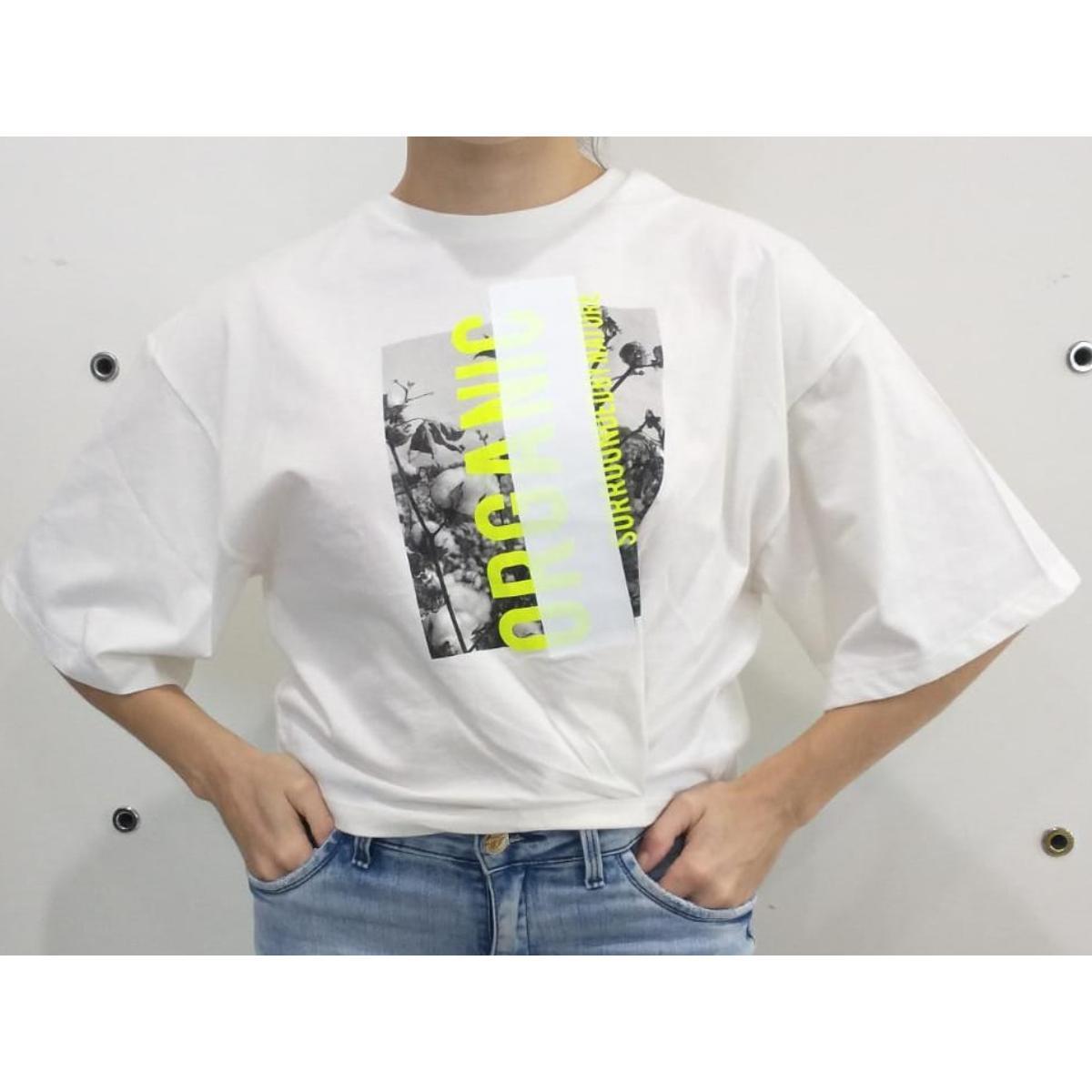 Camiseta Feminina Forum 344602293 58529 Off White