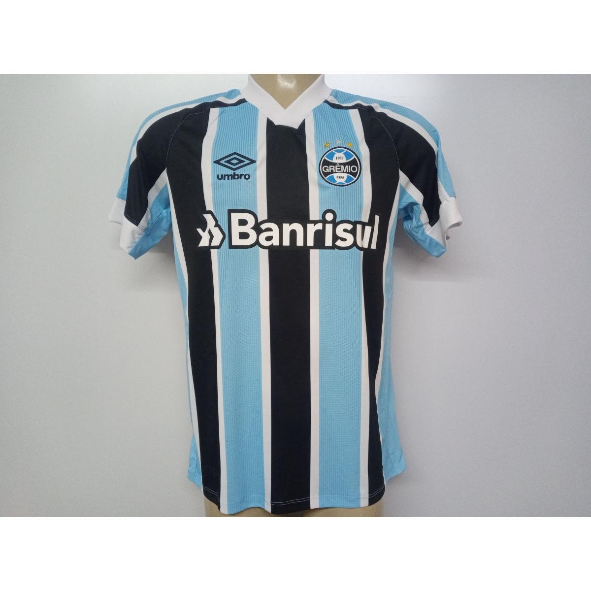 Camiseta Masculina Grêmio U31g024.312 Classic of 1 2021 N10 Celeste/preto/branco