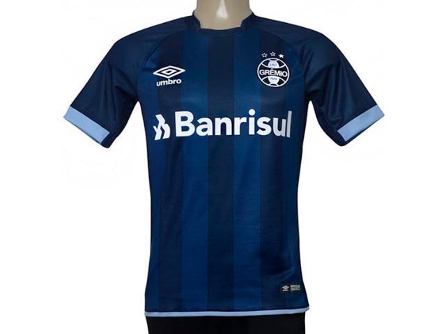 Camiseta Masculina Grêmio 3g160267 of 3 2017/18 Fan  Marinho/azul