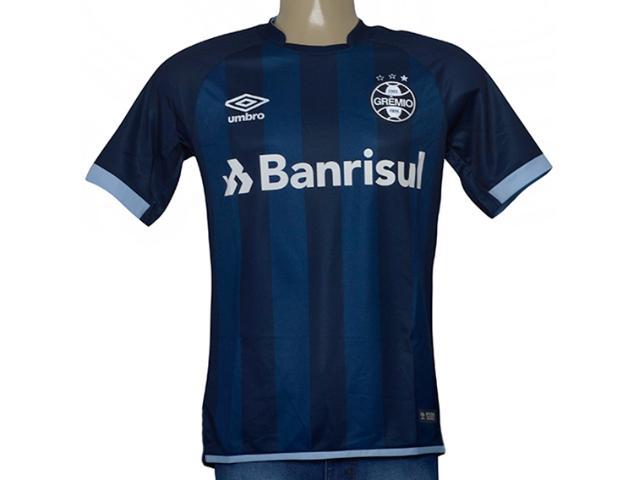 Camiseta Masculina Grêmio 3g160268 of 3 2017/18 Fan S/n Marinho/azul