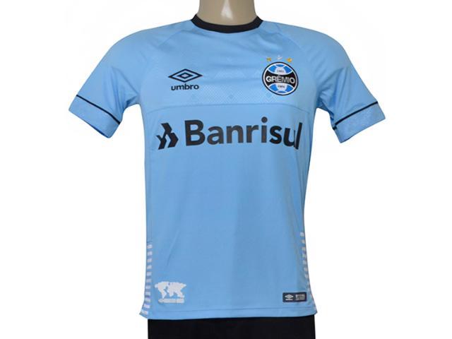 Camiseta Masculina Grêmio 3g160656 of Charrua 2018 Fan S/n  Azul/preto/branco
