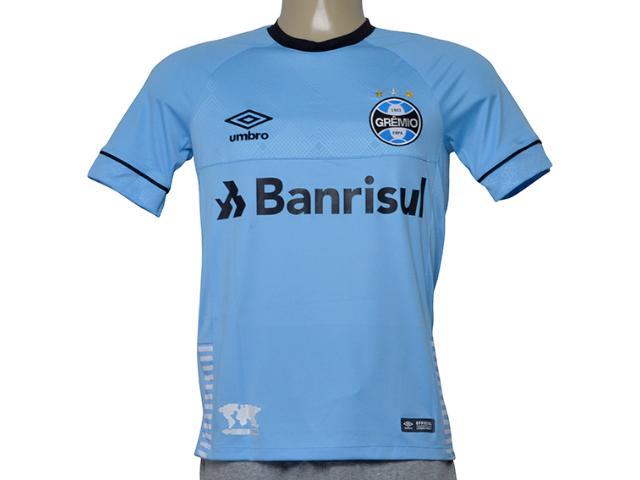Camiseta Masculina Grêmio 3g160655 of Charrua 2018 C/n 7 Azul/preto/branco