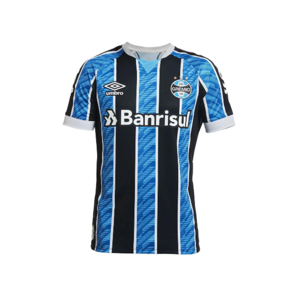 Camiseta Masculina Grêmio 3g161206  Of.1 2020 Classic C/n 11 Tricolor