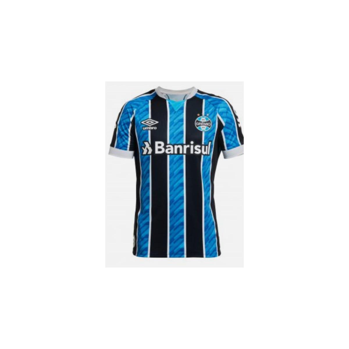 Camiseta Masculina Grêmio 3g161163 of i 2020 Atleta C/n 10 Tricolor