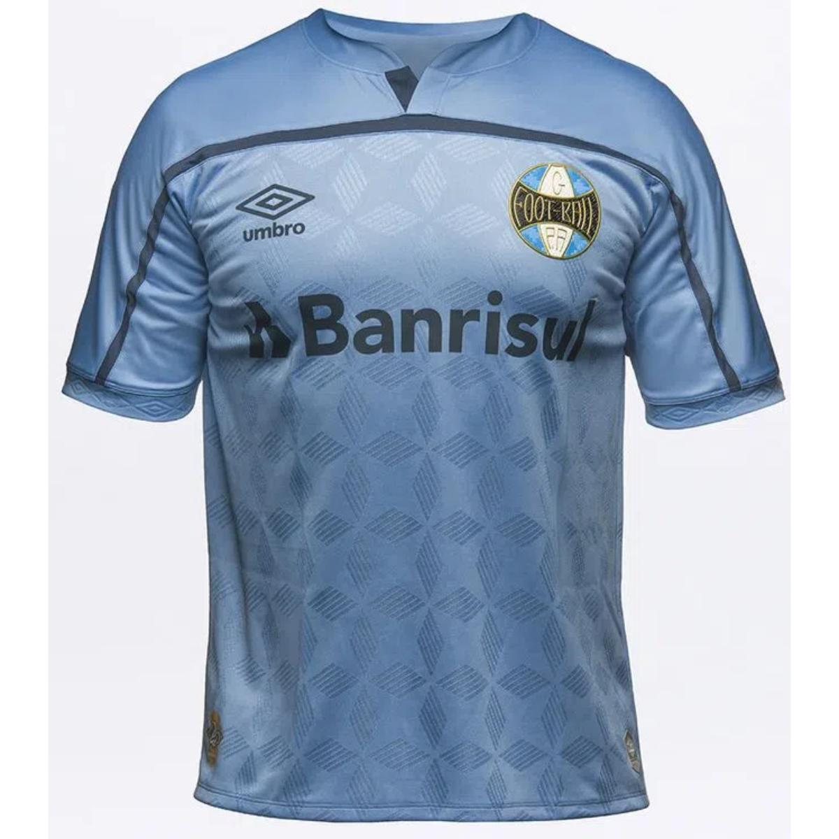 Camiseta Masculina Grêmio U31g514088 Of.3 2020 Classic Azul/marinho
