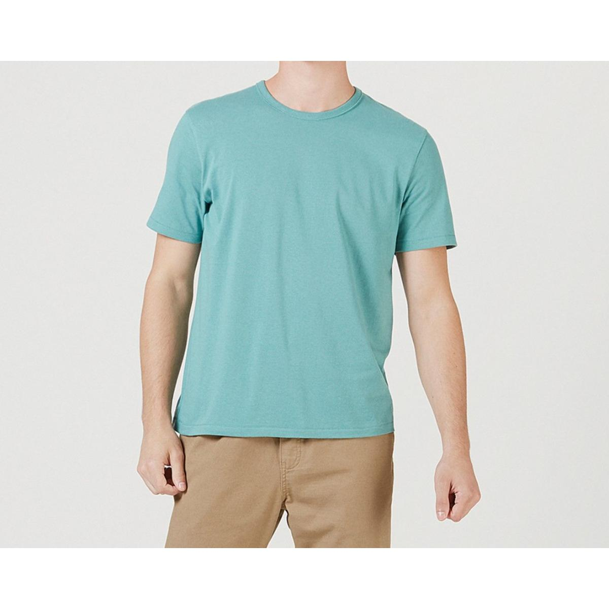 Camiseta Masculina Hering 0299 Wg9en  Verde